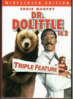 Dr. Dolittle Triple Feature (3-Disc DVD Box Set) Eddie Murphy  RE