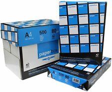 Caja 5 PAQUETES Folios X 500 HOJAS cada paquete - DIN A4 80GRS