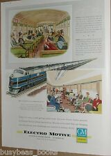 1949 Electro Motive Diesel advertisement, Baltimore & Ohio Capital Limited