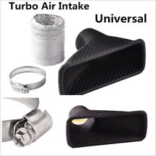 ABS Carbon Fiber Color Car Front Bumper Turbo Air Intake Pipe Turbine Inlet Pipe