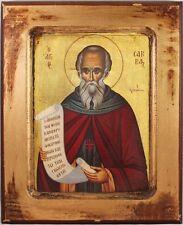 Greek Orthodox Icon of St. Savvas the Sanctified