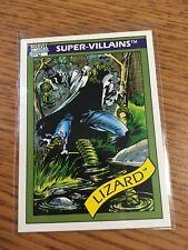 IMPEL MARKETING 1990 MARVEL COMICS SUPER-VILLAINS THE LIZARD CARD # 67 NEAR MINT