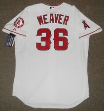Jered Weaver White Los Angeles Angels Authentic Jersey sz 48 Majestic New w/ tag
