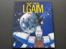 Heavy Metal L-Gaim Art Book #1 OOP RARE Anime Mamoru Nagano