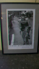 Lance Armstrong 2000 TDF Champion Framed & Matted Print by Graham Watson