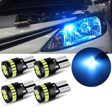 Blue T10 194 168 2825 W5W Canbus LED Bulb Parking Light License Side Marker Lamp