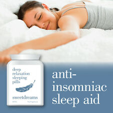 SWEET DREAMS DEEP RELAXATION SLEEPING PILLS – ANTI ANXIETY SLEEP PILLS CALMS