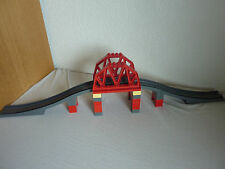 LEGO Duplo Ville Eisenbahnbrücke - Eisenbahn - Gleise - Set 3774 komplett -TOP!