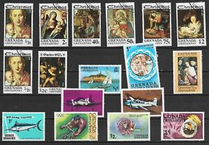 Grenada Grenadines Different stamps