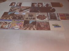 LOT 210 RECORDS 45 RPM/ 33 RPM THE BEATLES/SOLOS/DUETS/PROMO/COLORED VINYL/WINGS