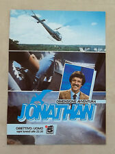 E948 - Advertising Pubblicità - 1985 - JONAYHAN DIMENSIONE AVVENTURA CANALE 5