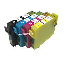 10 cartouches d'encre non-OEM pour EPSON SX440W T1291.. AVEC PUCES