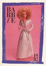 "Barbie Collectible Fashion Trading Card "" Barbie Fashion Favorites "" Hair 1982"