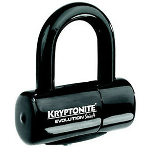 KRYPTONITE EVOLUTION SERIES 4 DISC LOCK BIKE CYCLE NEW BIKE BICYCLE BLACK CHEAP