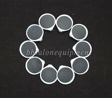 10 Picees Rubber Reusable Replacement Electrode Pads For Massager Tens Machine