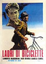 The bicycle thief Vittorio De Sica vintage movie poster print 5