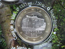 ANDORRA 2016  1 EURO FDC UNC DA DIVISIONALE AUS KMS FROM BU SET ANDORRE