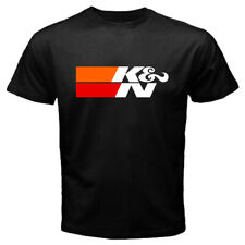 K&N Performance Air Filters Automotive Auto Motor Super Car Men's Black T-shirt