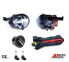 Nuovo di Zecca VW Touran 03-06 FOG LIGHTS LUCE LAMPADE PAIR & Kit Di Cablaggio + Interruttore Set