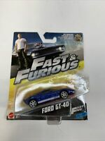 Fast and Furious Fast Five Ford GT-40. New in Package. Free USA Shipping.