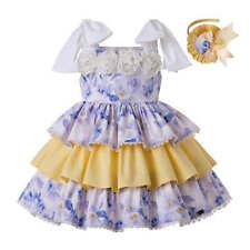 Flower Girl Princess Dresses Spanish Birthday Party Prom Summer Holiday Sundress