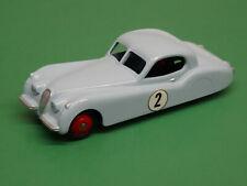 VINTAGE DINKY TOYS MECANNO #157 JAGUAR XK120 CUSTOM RESTORED RALLY CAR