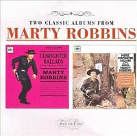 MARTY ROBBINS - GUNFIGHTER BALLADS AND TRAIL SONGS/MORE GUNFIGHTER BALLADS & TRA