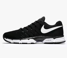 44f4673f558c Nike Lunar Fingertrap TR Men s Gym Training Shoes 898066 001 Black White-Sz-