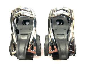 Salomon Snowboard Bindings - Aluminium Ankle Ratchets / Buckles Replacement x 2