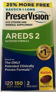 PreserVision AREDS 2 Formula 150 softgels, EXP 09/2021