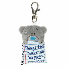 Me to You Notepad Key Ring Clip Things That Make Me Happy You - Tatty Teddy