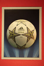 PANINI CHAMPIONS LEAGUE 2012/13 N. 10 THE BALL BLACK BACK MINT!