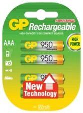 Piles rechargeables Grey Pneumatic pour équipement audio et vidéo AAA