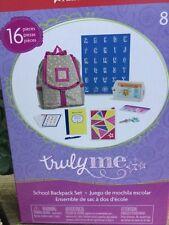 New American Girl School Backpack Set NIB Notebook Tablet Key Chain