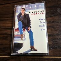 Vince Gill 'When Love Finds You' Cassette (1994, MCA Records) * Vintage!