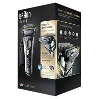 Braun Series 9 9290CC Silver Electric Foil Wet & Dry Shaver With Charge Station