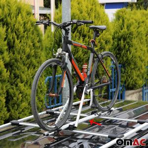 Roof Bike Bicycle Carrier Rack Mount Alu Silver For Tesla Model Y 2020-2021