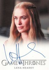 Game of Thrones Season 4 Lena Headey as Cersei Lannister Auto Card