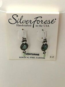 Silver Forest Handcrafted in the USA Earrings NEW (A8)