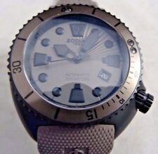 Zodiac ZO8014 Black / Brown Men's Analog Watch Used