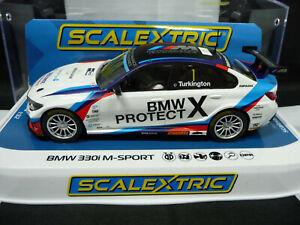 Scalextric C4188 1:32 BMW 330i M-Sport BTCC 2019 Colin Turkington
