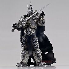 "WOW World of Warcraft Arthas Fall of The Lich King Arthas Menethil 7"" Figure001"