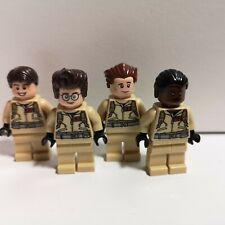 Lego - Ghostbusters - Egon, Peter, Raymond, Winston - Genuine Minifigure