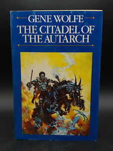 Gene Wolfe THE CITADEL OF THE AUTARCH vintage 1982 HB DJ book club edition