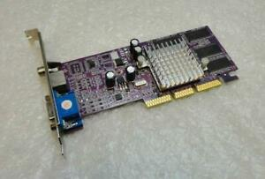 64MB ATi Radeon 7000 VGA / Sv-Out / Av-Out AGP Carte Graphique Vidéo