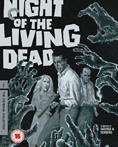 Night Of The Living Dead (1968) (Criterion Collection) Uk Only - 2 . BLU-RAY NEW