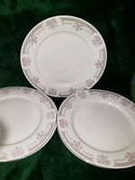 Vintage Dynasty Fine China Colleen 10 Piece Plate & Saucer Set Pink Roses