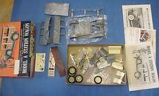 Vintage Hubley metal die cast kit Model A Station wagon never assembled
