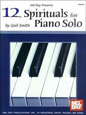 12 spirituals pour piano solo