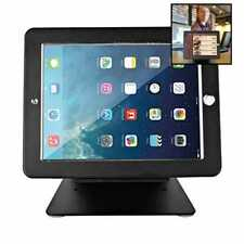 Ipad Stand Holder Desktop Anti Theft Security Pos Enclosure W Lock & Key